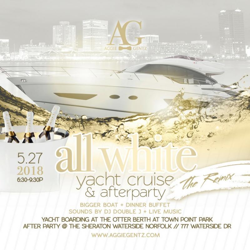 Aggie Gentz All White Party